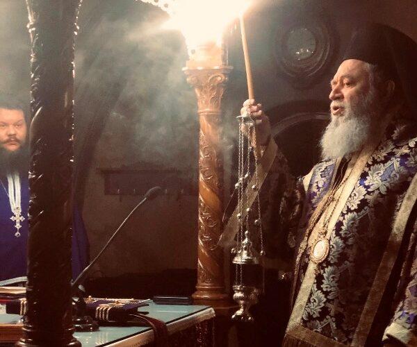 Η πρώτη εβδομάδα της Μεγάλης Τεσσαρακοστής στην Ιερά Μητρόπολη Χαλκίδος