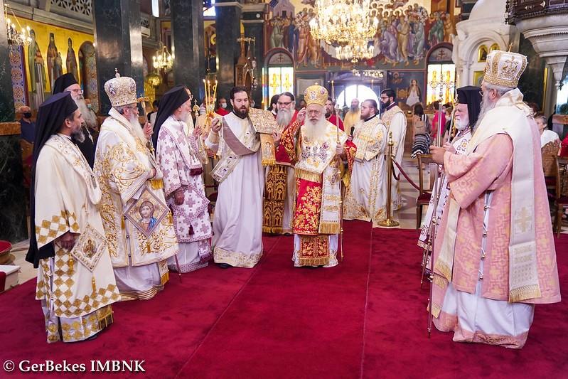 Πολυαρχιερατική Θεία Λειτουργία για τα Ονομαστήρια του Μητροπολίτη Βεροίας κ.κ. Παντελεήμονος - Adologala (2)
